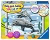Freundliche Delfine Malen und Basteln;Malen nach Zahlen - Ravensburger