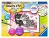 Numéro d art - mini - Adorables chatons Loisirs créatifs;Peinture - Numéro d'Art - Ravensburger