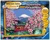 Japanische Kirschblüte Malen und Basteln;Malen nach Zahlen - Ravensburger