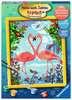 Flamingo Love Malen und Basteln;Malen nach Zahlen - Ravensburger
