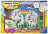 Numéro d art - grand - Au pays des licornes Loisirs créatifs;Peinture - Numéro d'Art - Ravensburger