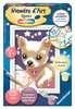 Numéro d art - mini - Petit chien qui brille Loisirs créatifs;Peinture - Numéro d'Art - Ravensburger