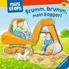 Brumm, brumm, mein Bagger! Kinderbücher;Babybücher und Pappbilderbücher - Ravensburger