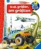 Groß, größer, am größten (Riesenbuch) Kinderbücher;Wieso? Weshalb? Warum? - Ravensburger