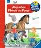 Alles über Pferde und Ponys Kinderbücher;Wieso? Weshalb? Warum? - Ravensburger