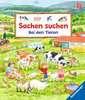 Sachen suchen: Bei den Tieren Baby und Kleinkind;Bücher - Ravensburger