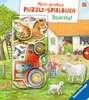 Mein großes Puzzle-Spielbuch Bauernhof Kinderbücher;Babybücher und Pappbilderbücher - Ravensburger