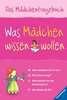 Was Mädchen wissen wollen Kinderbücher;Kindersachbücher - Ravensburger