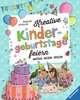 Kreative Kindergeburtstage feiern Kinderbücher;Malbücher und Bastelbücher - Ravensburger