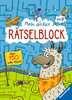 Mein dicker Rätselblock Kinderbücher;Lernbücher und Rätselbücher - Ravensburger