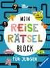 Mein Reise-Rätselblock für Jungen Kinderbücher;Lernbücher und Rätselbücher - Ravensburger