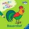 Malen nach Zahlen junior: Bauernhof Kinderbücher;Malbücher und Bastelbücher - Ravensburger
