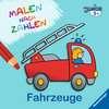 Malen nach Zahlen junior: Fahrzeuge Kinderbücher;Malbücher und Bastelbücher - Ravensburger