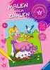 Malen nach Zahlen: Prinzessinnen Kinderbücher;Malbücher und Bastelbücher - Ravensburger