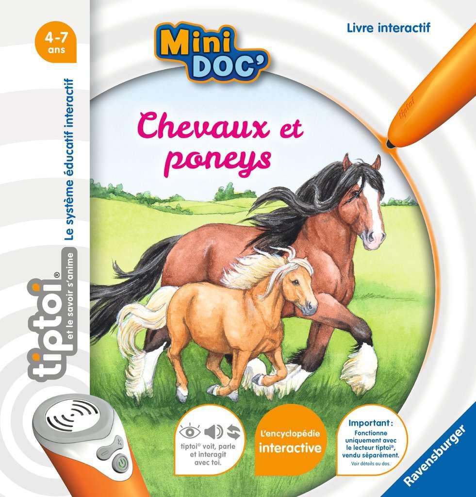 Tiptoi Mini Doc Chevaux Et Poneys