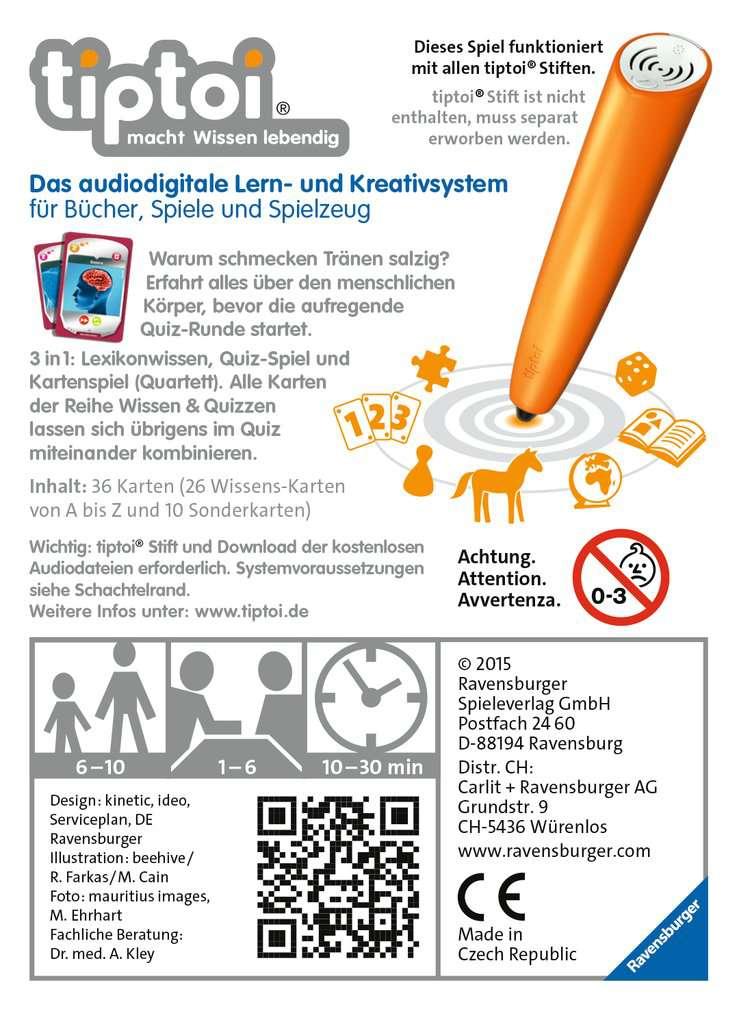 tiptoi® Wissen & Quizzen: Menschlicher Körper   tiptoi® Spiele ...