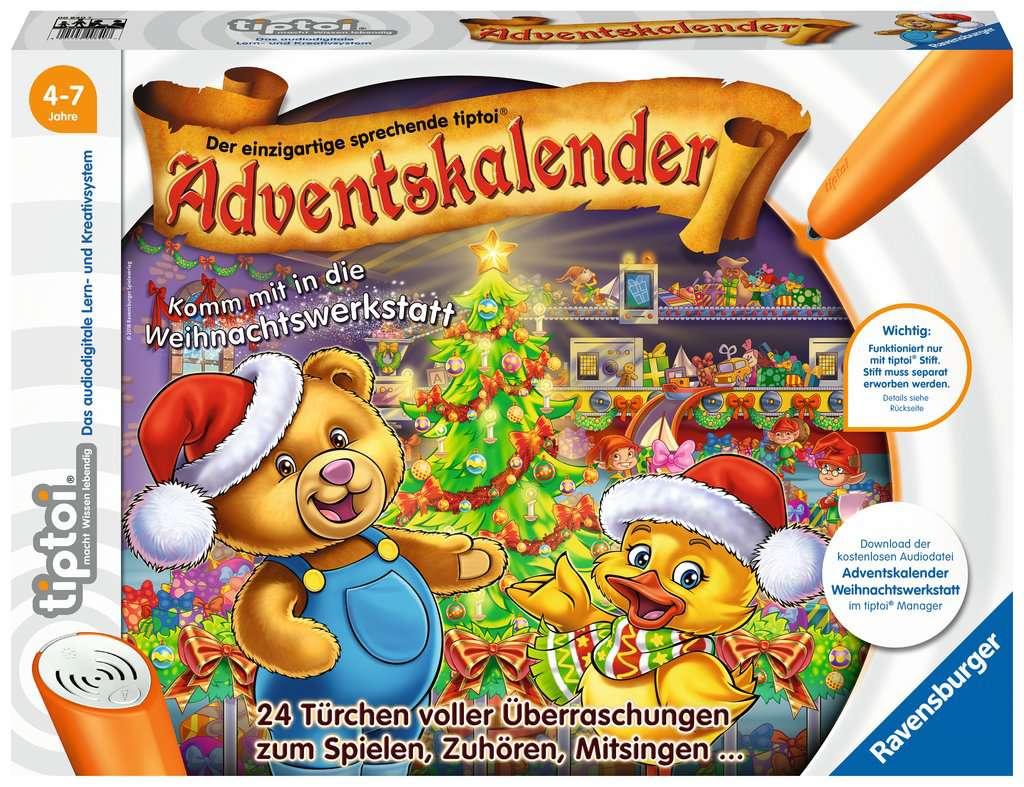 Tiptoi® Adventskalender   Die Weihnachtswerkstatt Tiptoi®;tiptoi®  Adventskalender   Bild 1