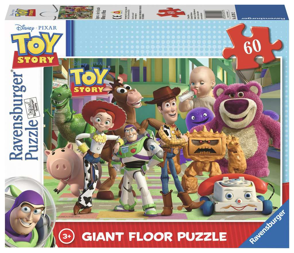 Disney Toy Story Giant Floor Puzzle 60pc Image 1