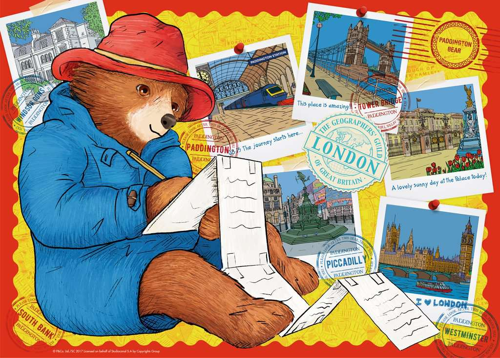 Paddington Bear Giant Floor Puzzle 60pc Image 2 Click