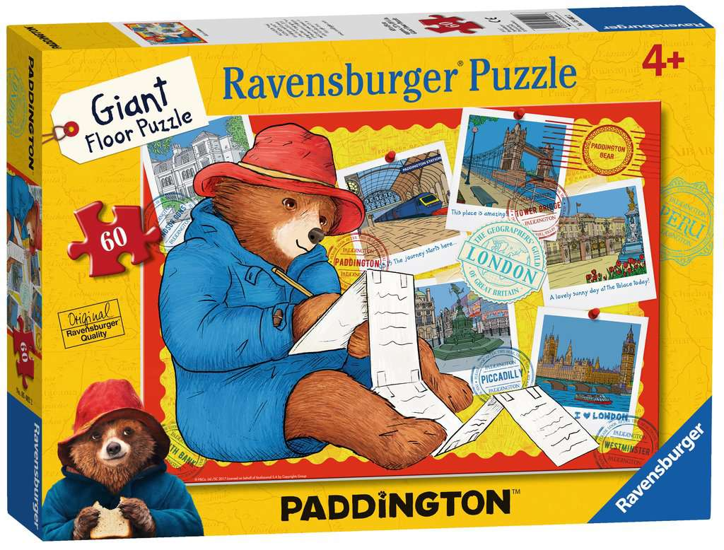 Paddington Bear Giant Floor Puzzle 60pc Image 3 Click