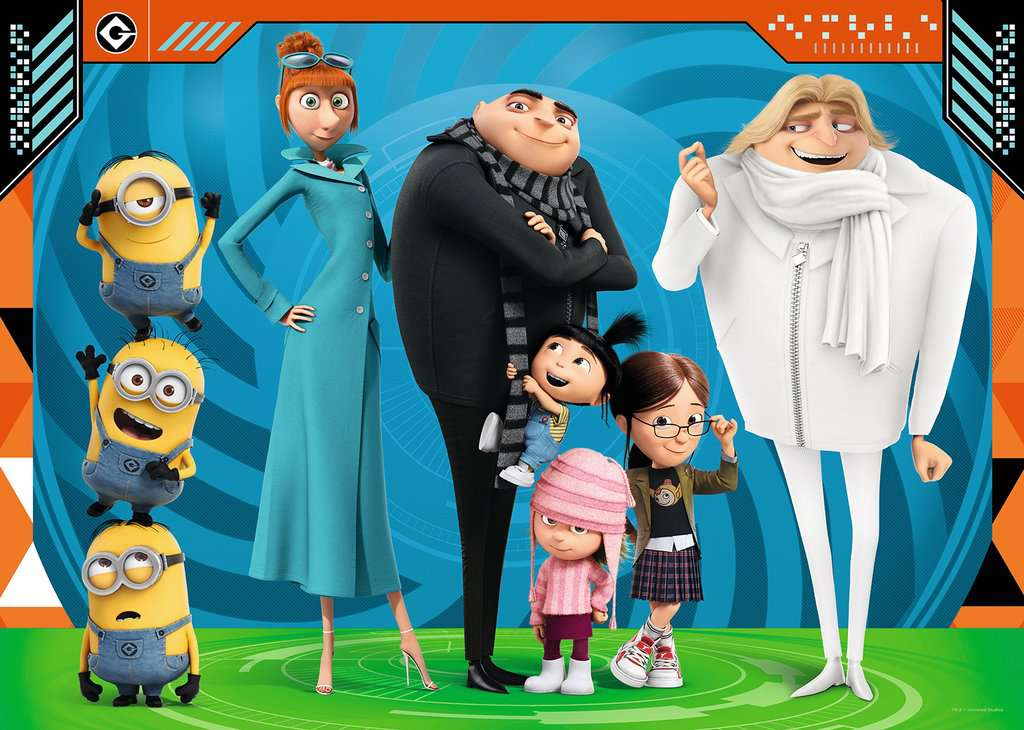 Despicable Me 3 Giant Floor Puzzle 60pc Image 2 Click