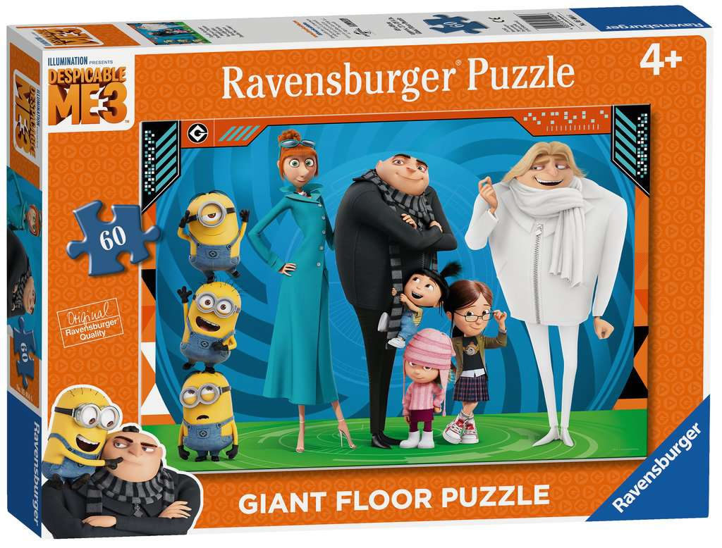 Despicable Me 3 Giant Floor Puzzle 60pc Children S