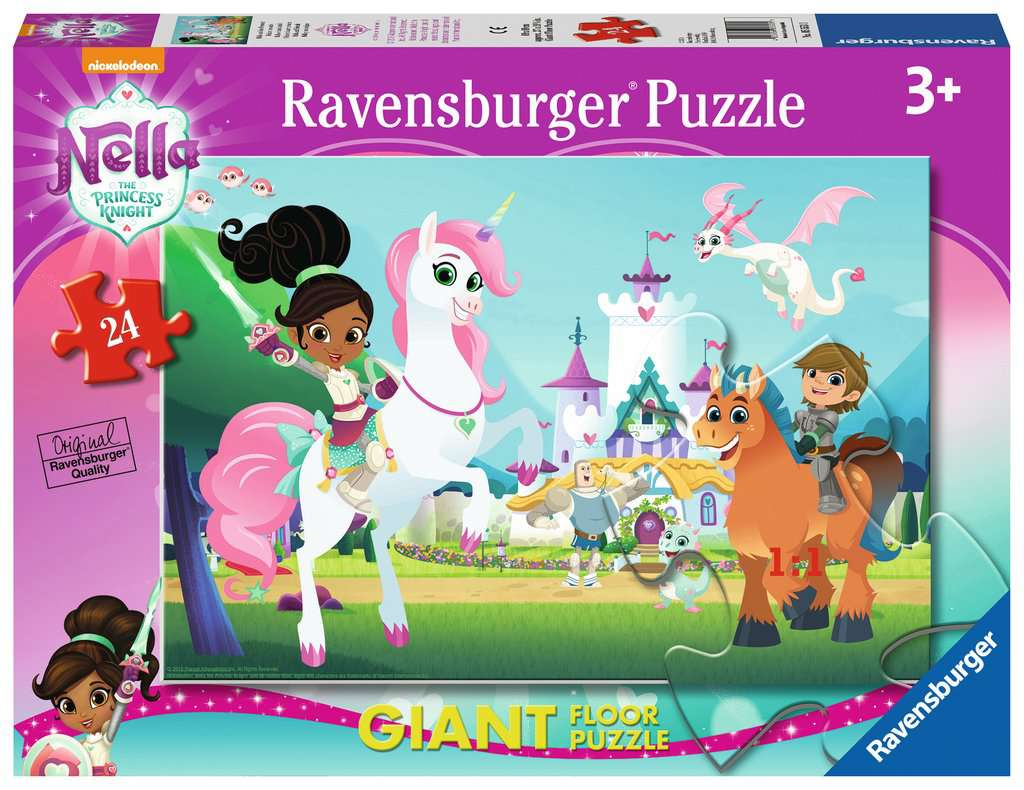 Nella The Princess Knight Giant Floor Puzzle 24pc Image
