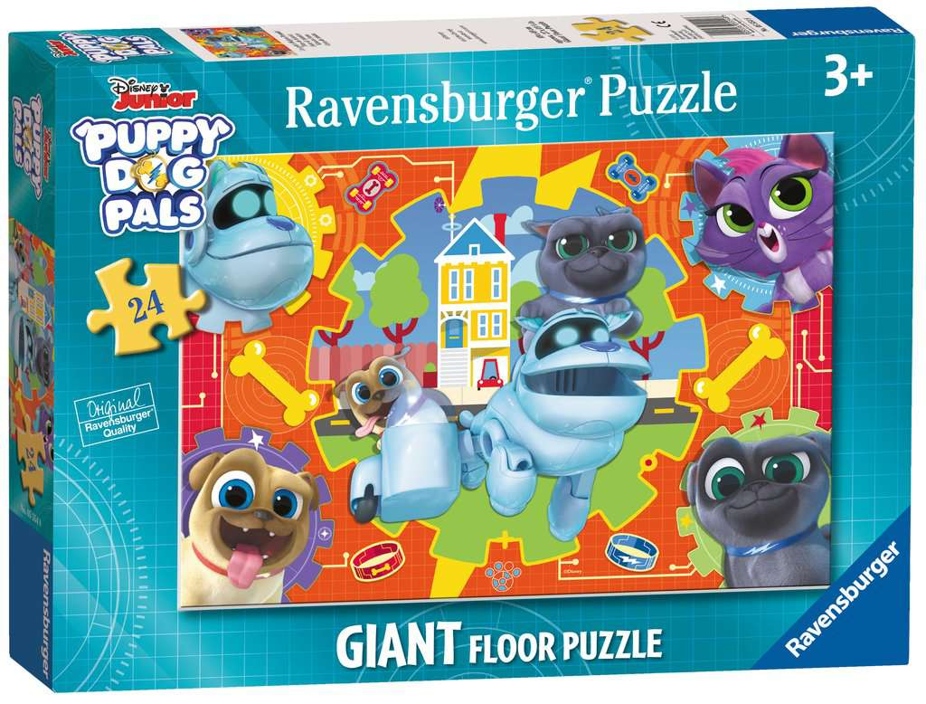 Puppy Dog Pals Shaped Giant Floor Puzzle 24pc Children