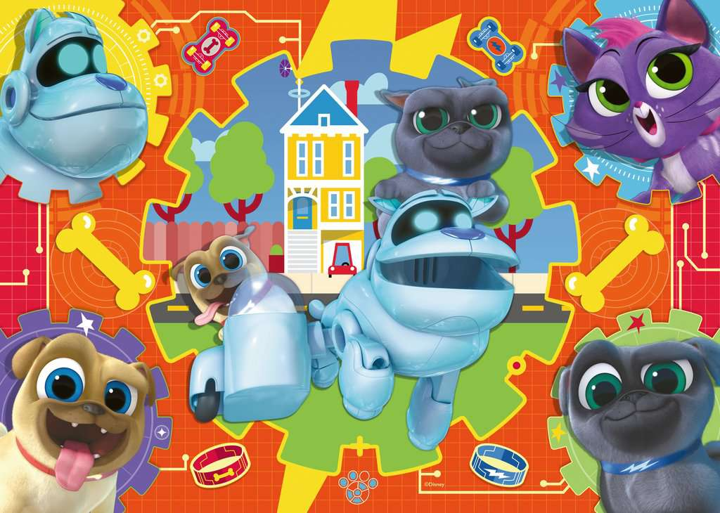 Puppy Dog Pals Shaped Giant Floor Puzzle 24pc Image 2