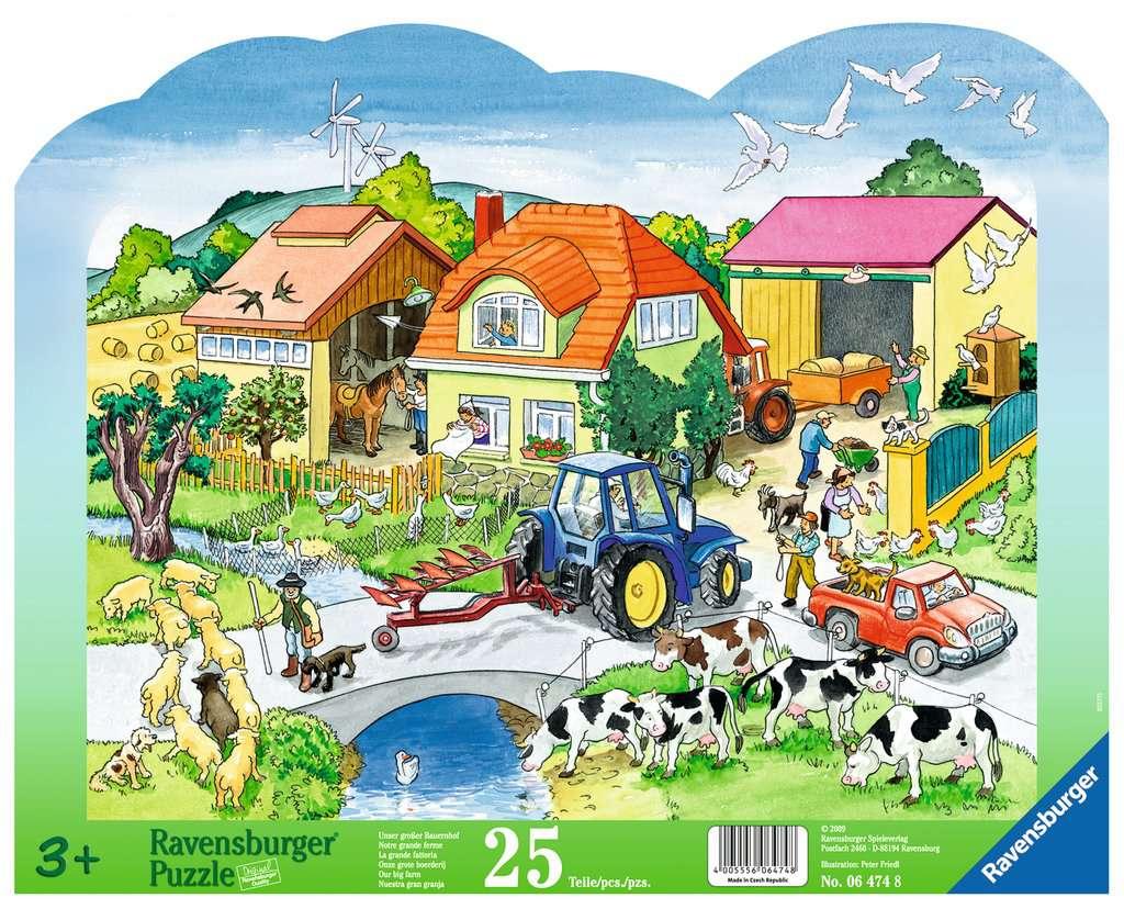 ravensburger puzzle 25 teile