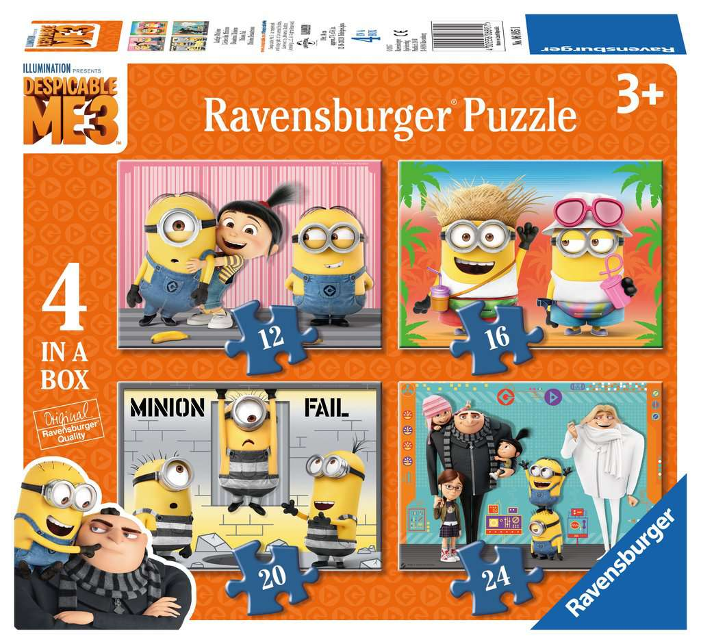 Despicable Me 3, 4 in Box - image 1 - Click to Zoom