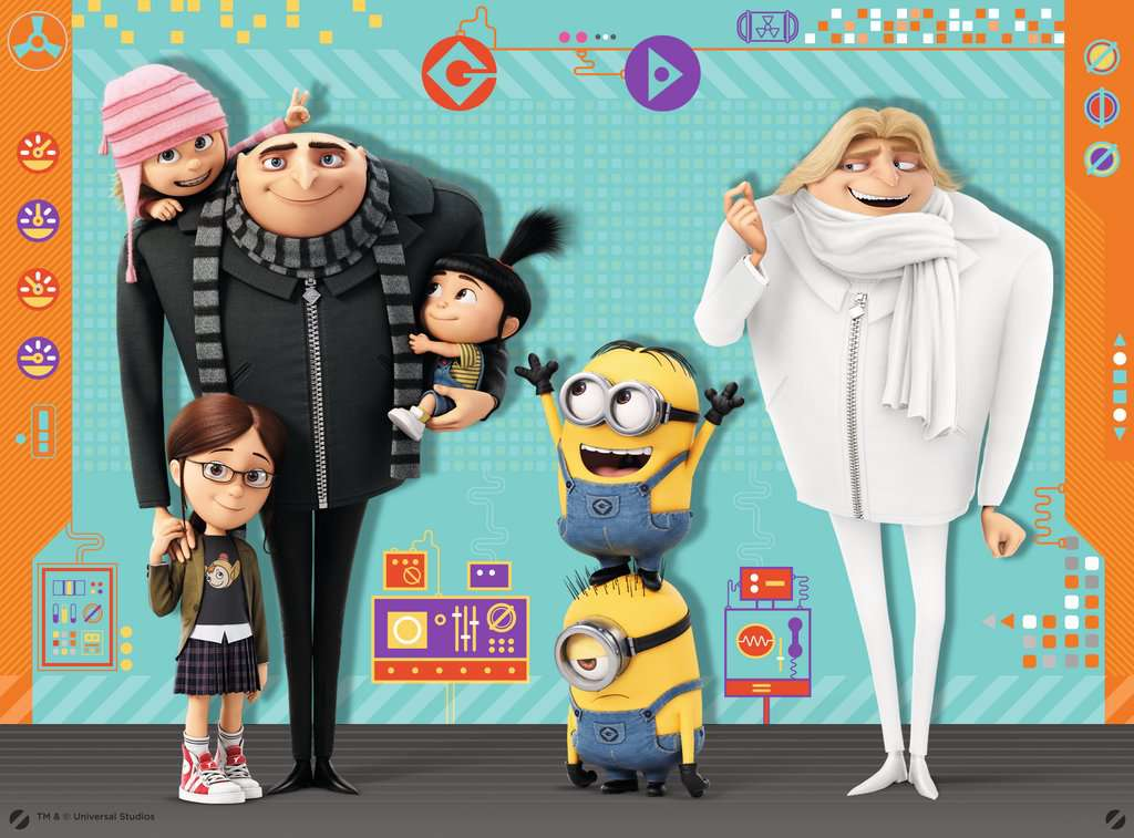 Despicable Me 3, 4 in Box - image 6 - Click to Zoom