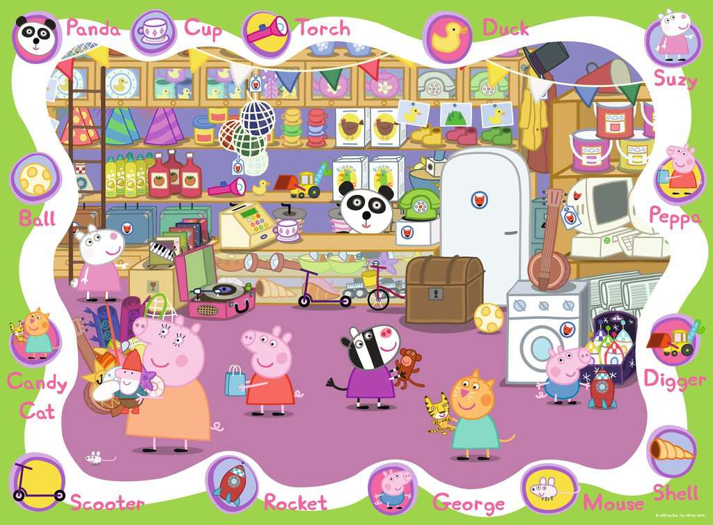 Peppa Pig My First Floor Puzzle 16pc Image 2 Click To