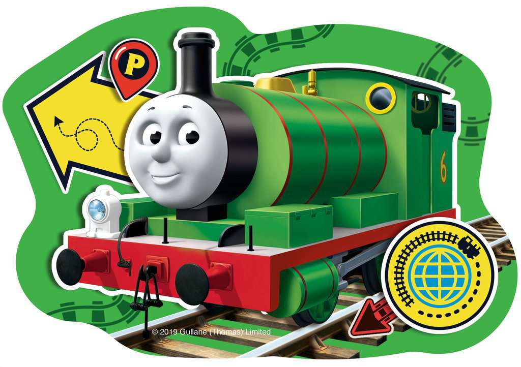 Thomas & Friends Big World Adventures Four Shaped Puzzles