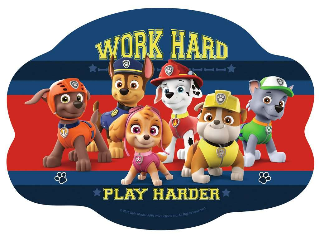 paw patrol four shaped puzzles image 5 click to zoom. Black Bedroom Furniture Sets. Home Design Ideas