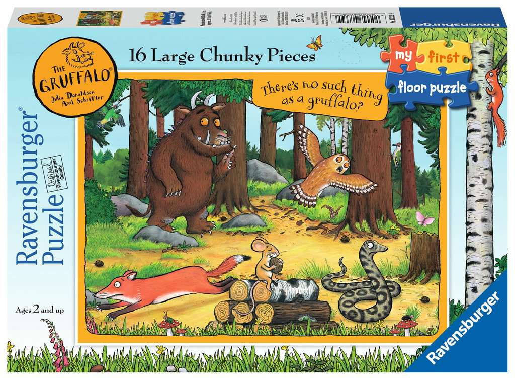 The Gruffalo My First Floor Puzzle 16pc Image 1 Click