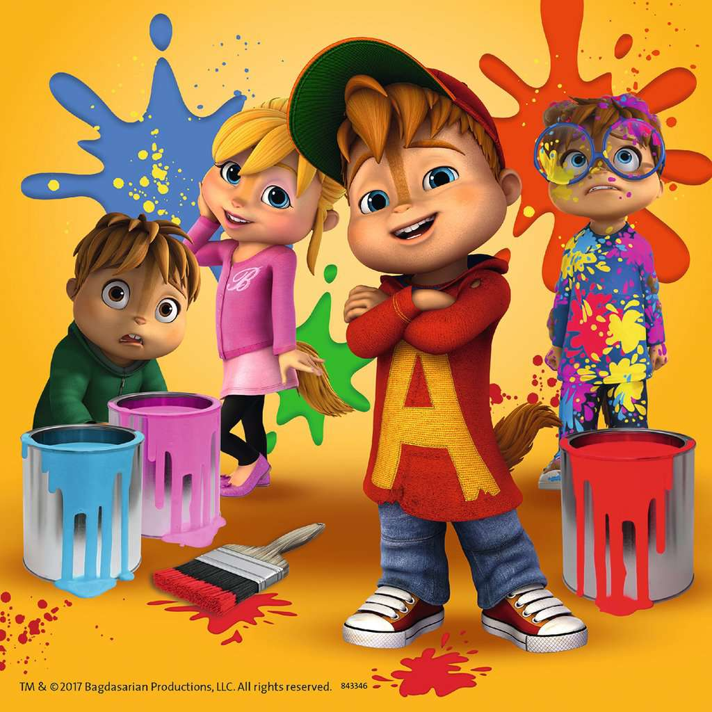 PERSONALISED ALVIN AND THE CHIPMUNKS PUZZLE