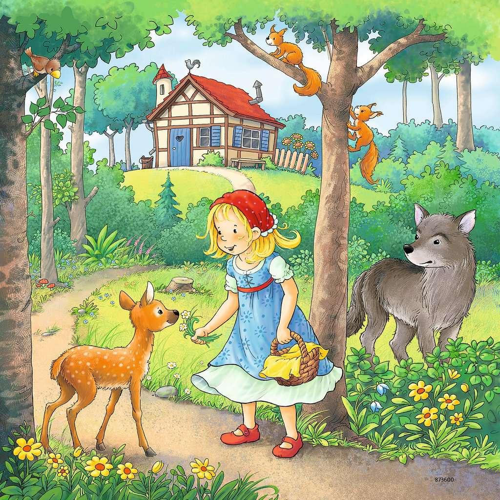 Rapunzel Rotkappchen Der Froschkonig Kinderpuzzle Puzzle