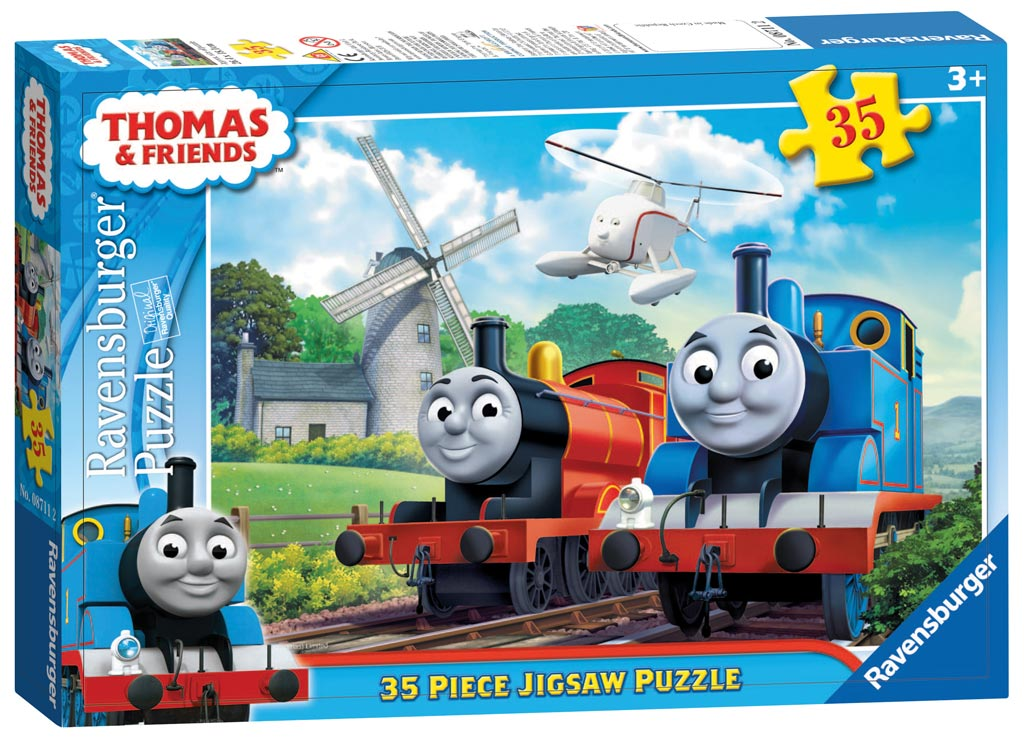 thomas friends at the windmill 35pc children s puzzles