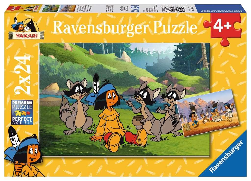ravensburger puzzle yakari