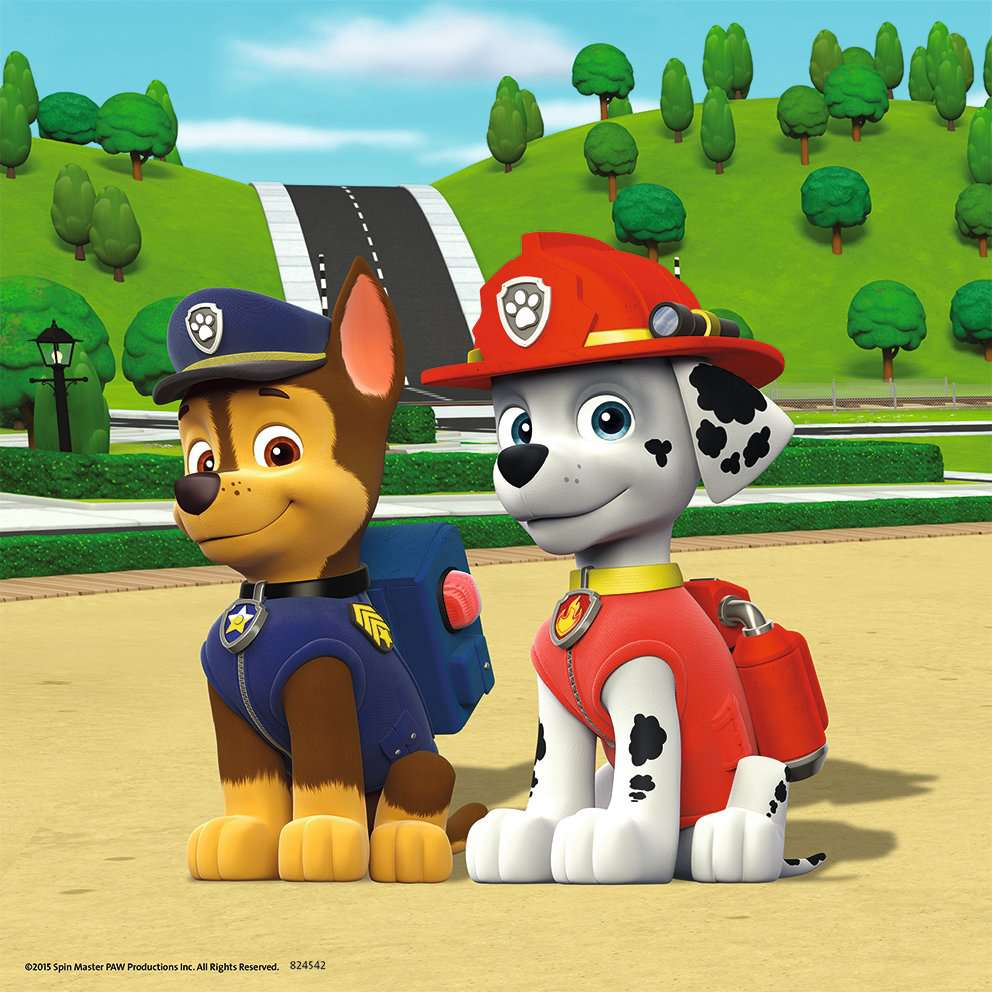 paw patrol 3x49pc image 3 click to zoom. Black Bedroom Furniture Sets. Home Design Ideas