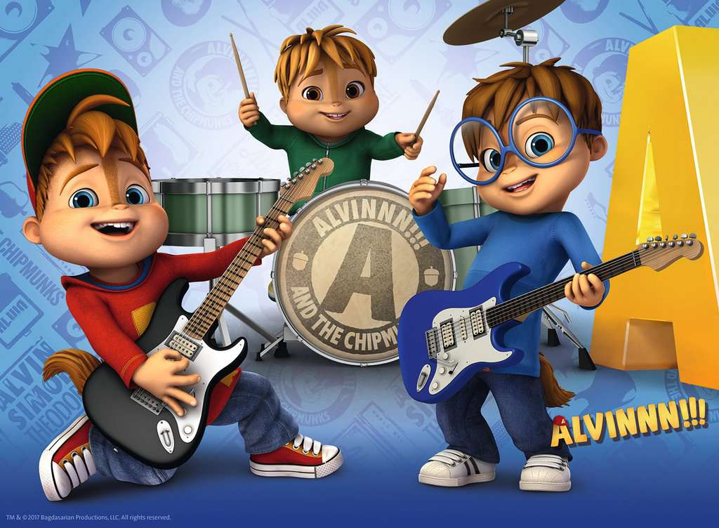 Alvin & the Chipmunks XXL100 | Children's Puzzles | Puzzles