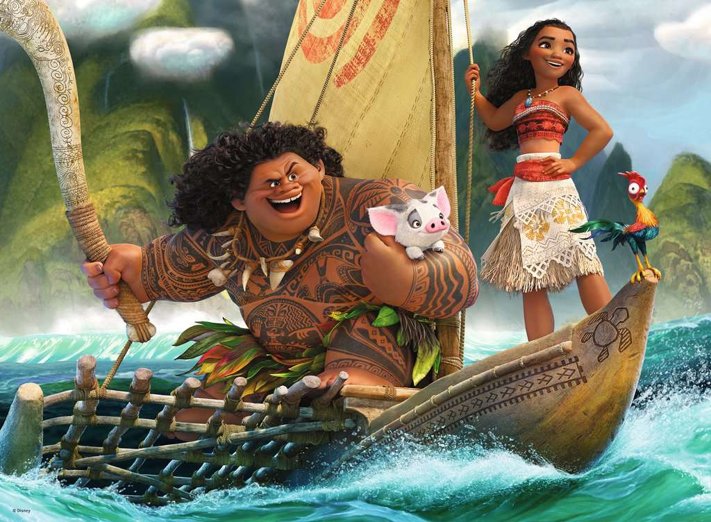 Moana And Maui Image 2 Click To Zoom