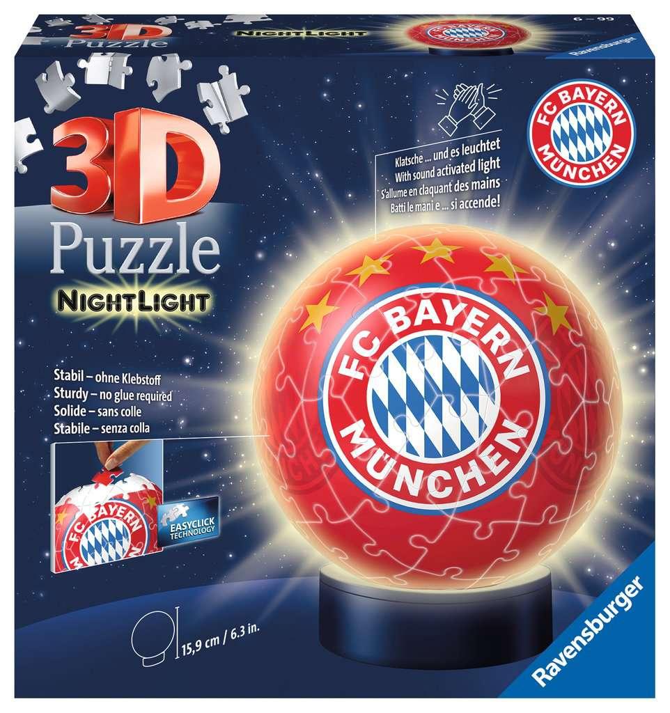 Nachtlicht Fc Bayern Munchen 3d Puzzle Ball 3d Puzzle Produkte Nachtlicht Fc Bayern Munchen