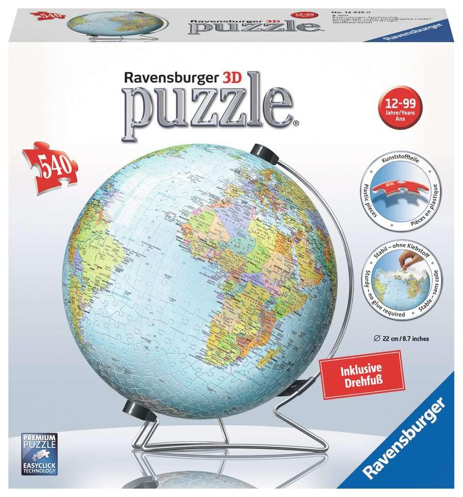 Exquisit Weltkugel 3d Beste Wahl In Deutscher Sprache Puzzle;3d Puzzle-ball - Bild