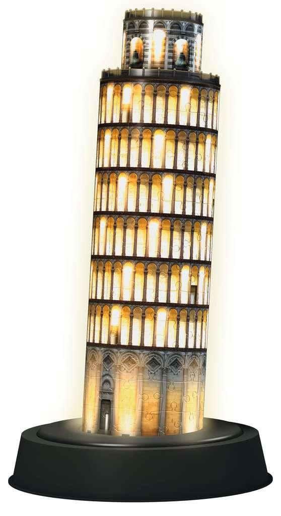 Toren van Pisa, night edition | 3D Puzzle Gebouwen | 3D puzzels ...