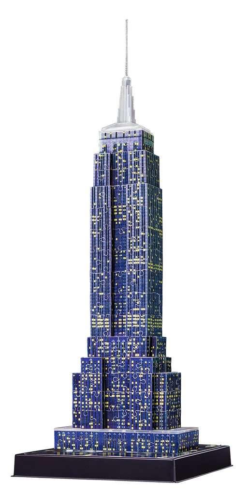 Puzzles & Geduldspiele Ravensburger Empire State Building bei Nacht 3D Puzzle Bauwerke Spielzeug NEU