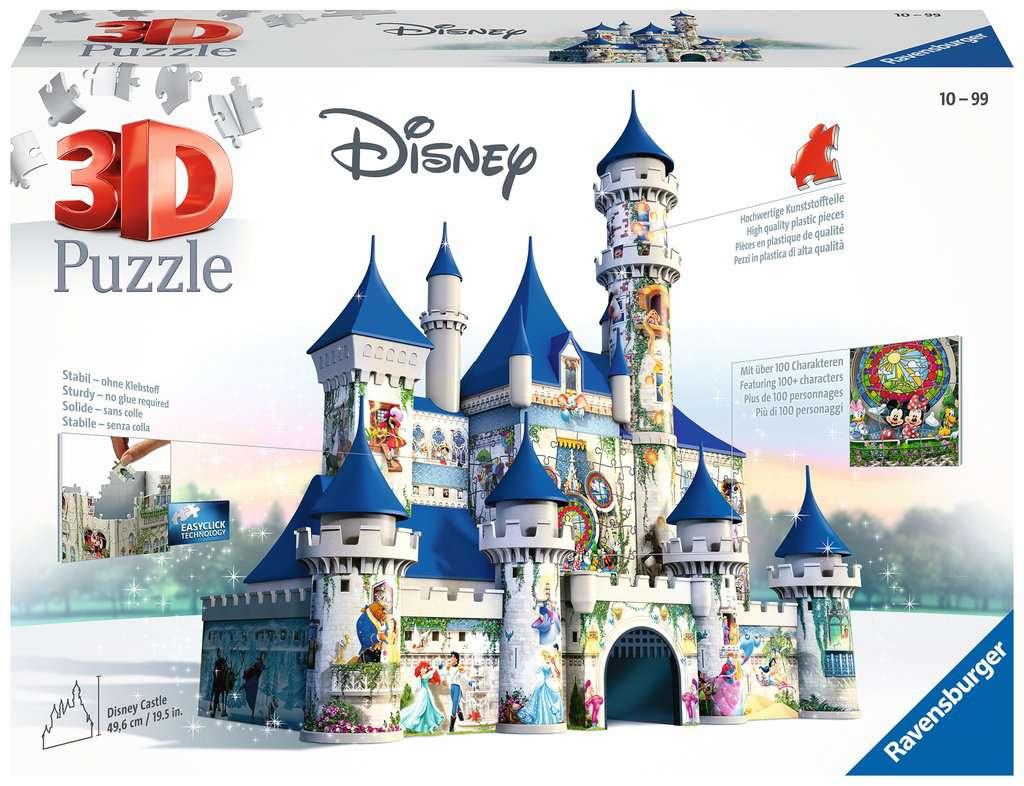 Disney Schloss 3d Puzzle Bauwerke 3d Puzzle Produkte Disney
