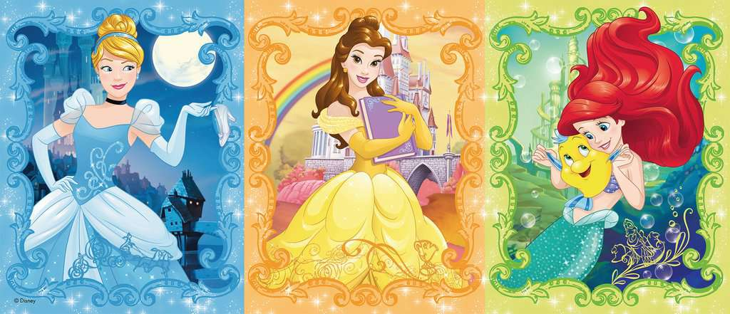 Beautiful Disney Princesses Children S Puzzles Jigsaw Puzzles