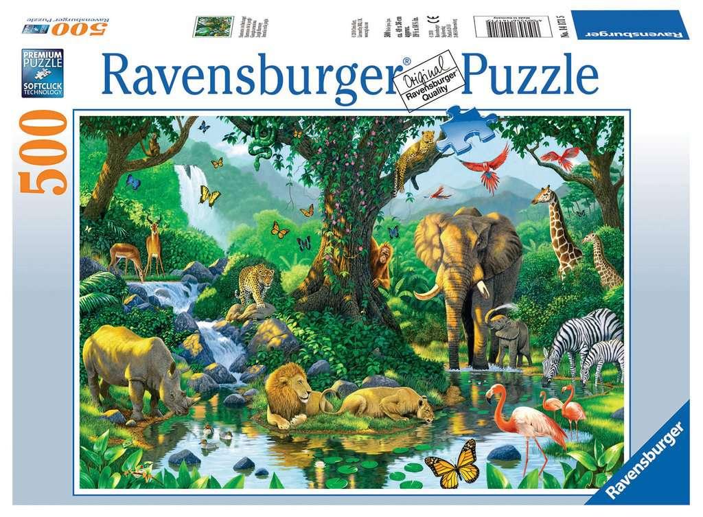 Harmonie Im Dschungel Erwachsenenpuzzle Puzzle Produkte